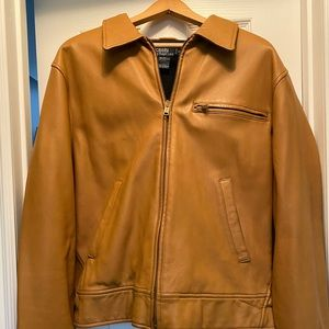 RARE Real Leather Polo by Ralph Lauren Jacket